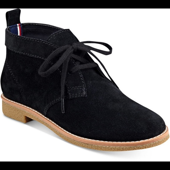 6cc6da5a05 Tommy Hilfiger Blaze Lace-up Oxford Booties. M_5cc48798bb22e348d83b6664